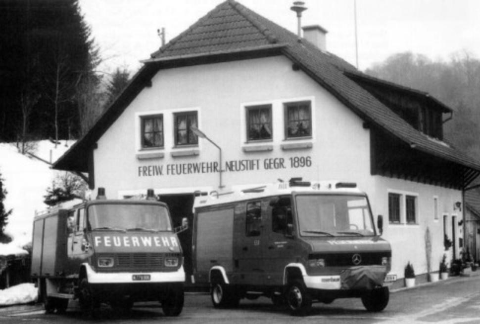 Das Feuerwehrhaus damals