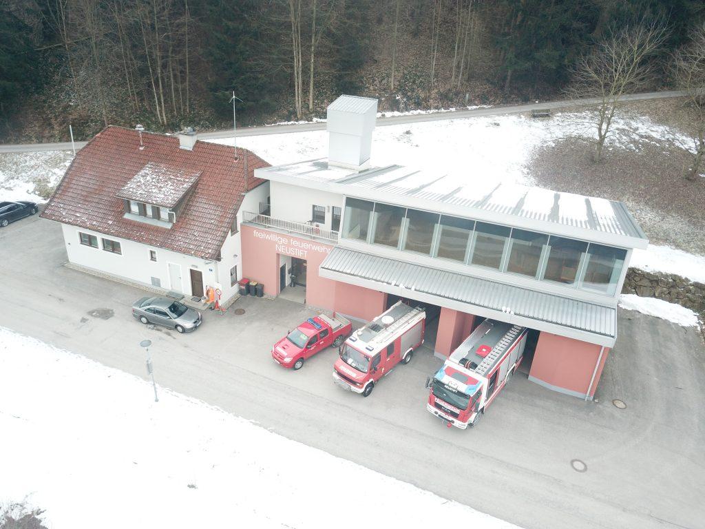 Das Feuerwehrhaus heute