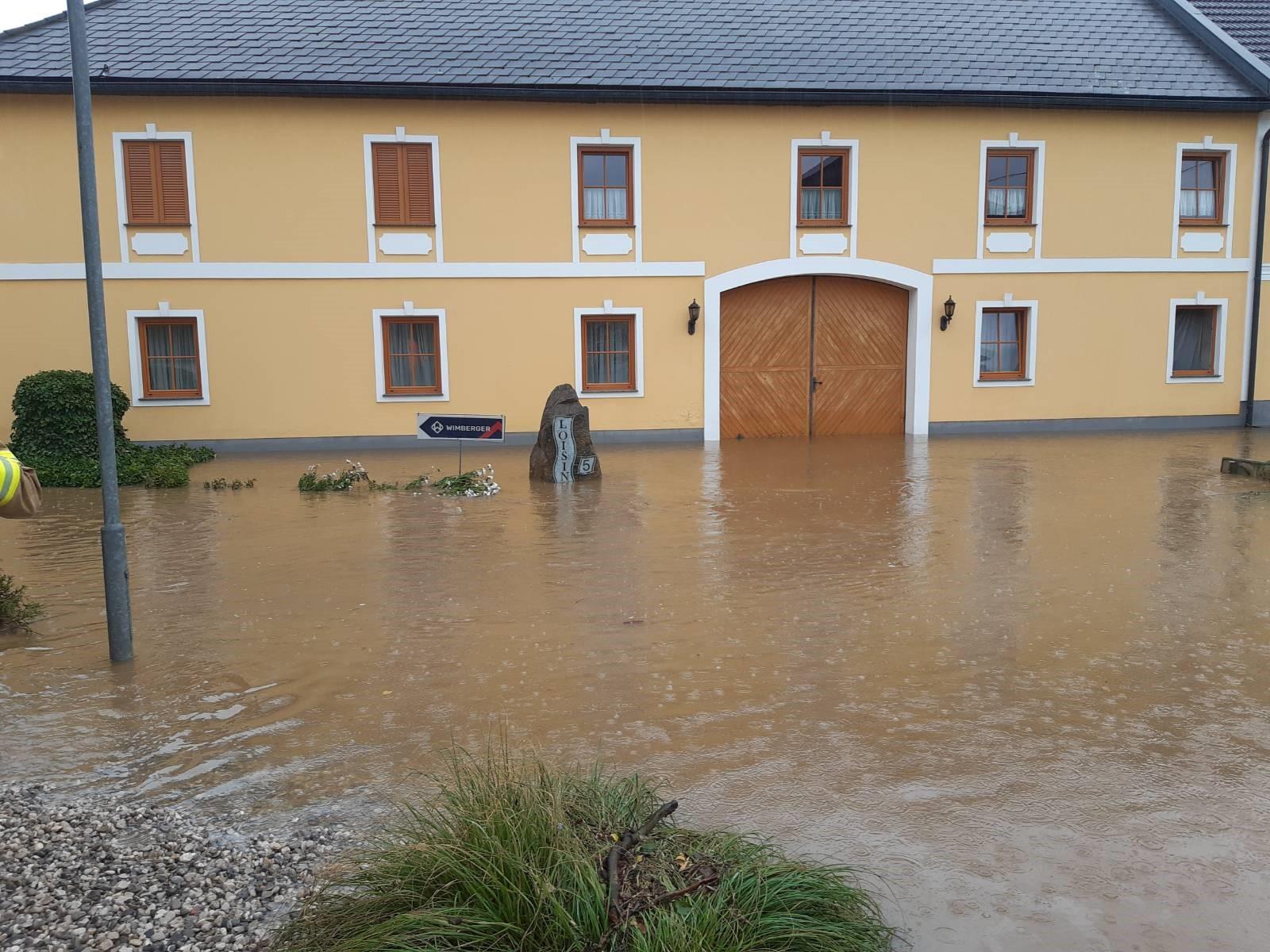 Hochwassereinsatz in Wieselburg!